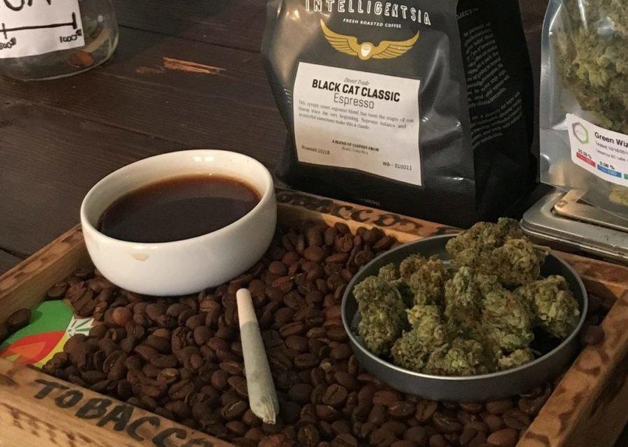 大麻とコーヒー