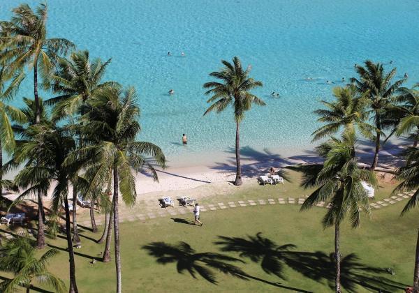 グアム島のビーチ