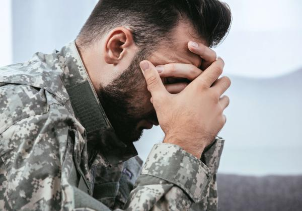PTSDの軍人