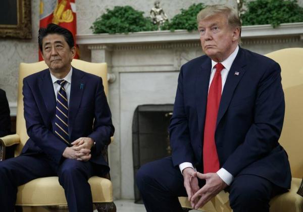 安倍総理大臣とトランプ大統領
