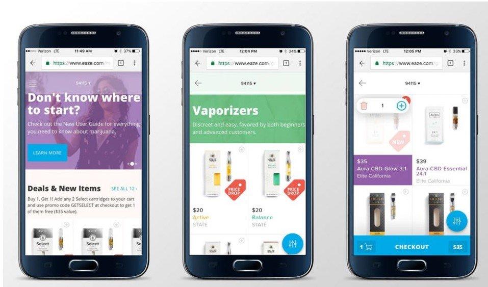 大麻関連アプリ