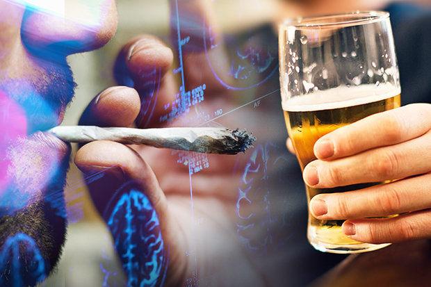 大麻とビール
