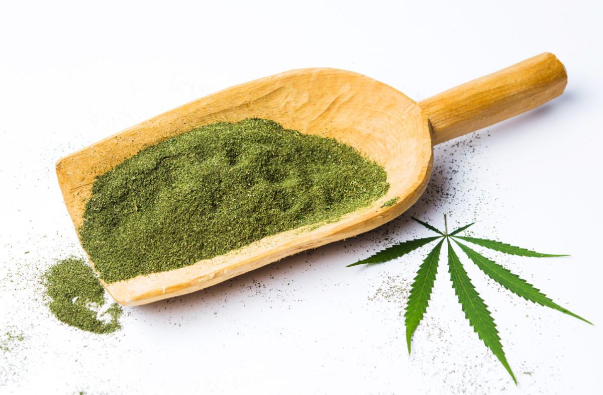大麻パウダー